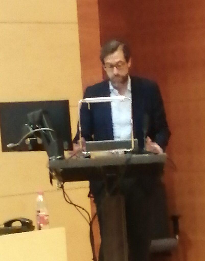 D. Federico Montalvo, presidente del Comité de Bioética de España